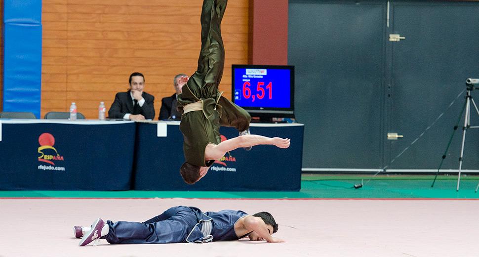 campeonato de wushu en Madrid