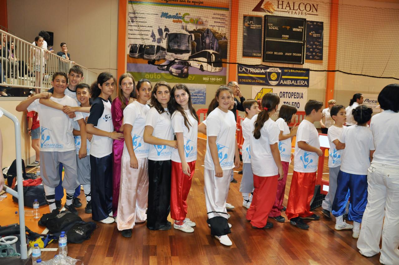 Torneo de Kungfu en Toledo 2014