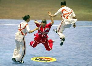 Competidores de Wushu